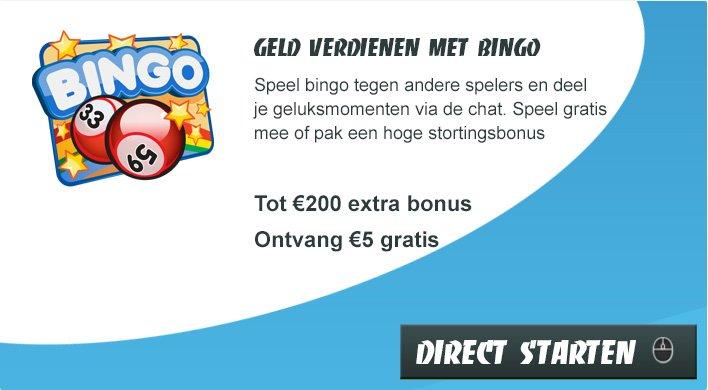 Geld verdienen met Bingo